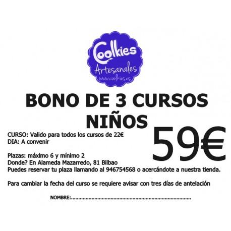 BONO DE 3 CURSOS