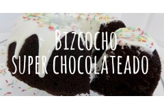 Bizcocho super chocolateado